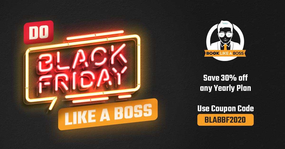 Book Like A Boss Black Friday