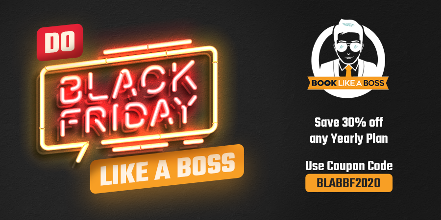 Book Like A Boss Black Friday