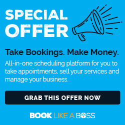 Book Like a Boss banner image