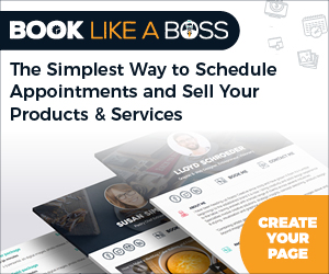 Book Like a Boss Affiliate Banner